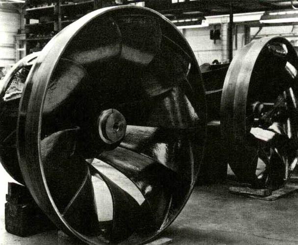 A Francis turbina járókereke